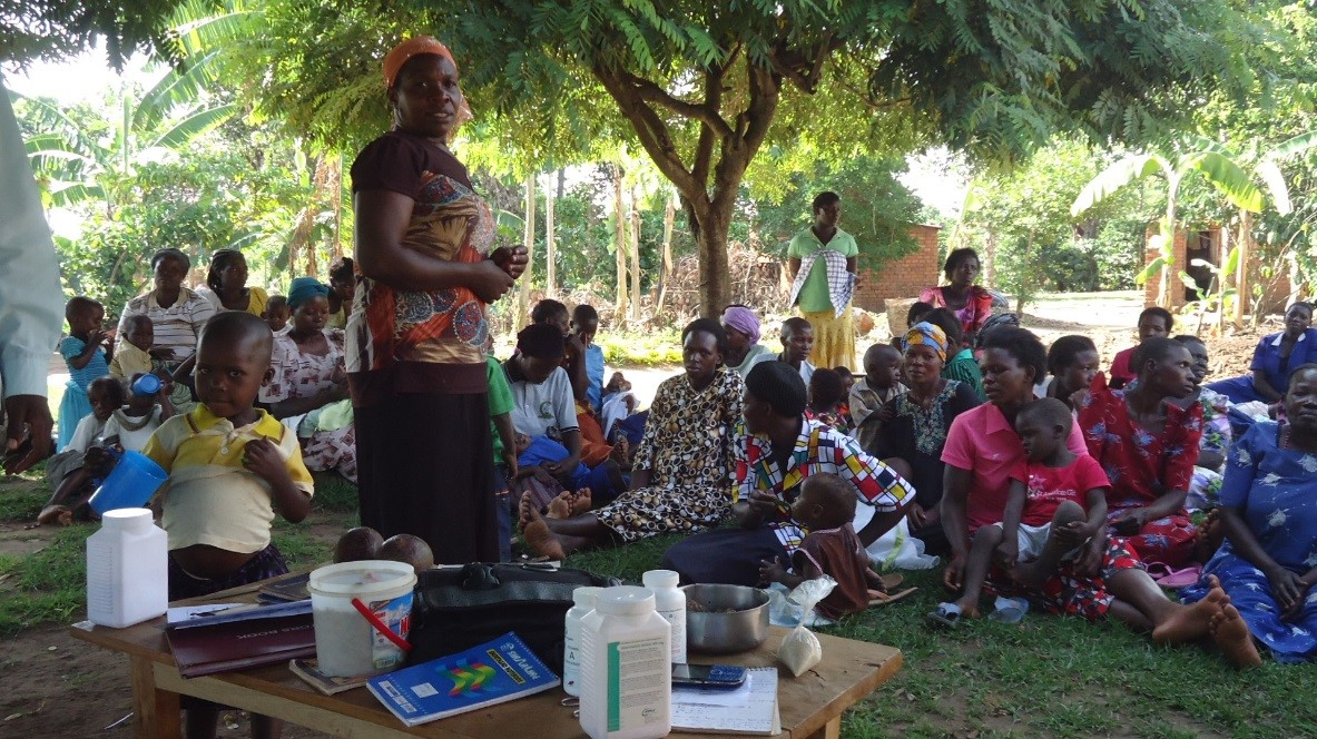 Community Health Worker peer supporter shares her experience
