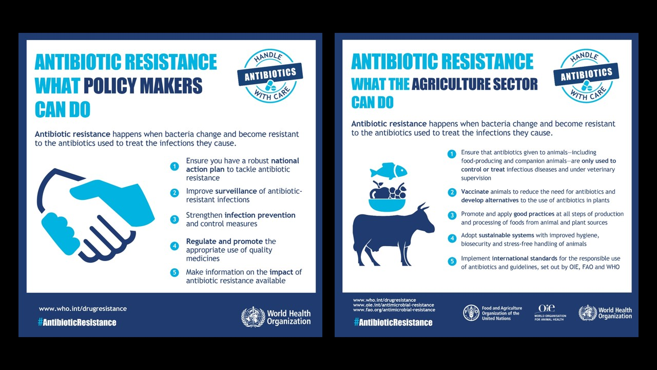 From newborns, mothers to the elderly, antibiotic resistance can be fatal; but we can do something