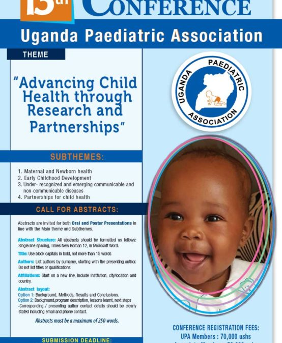 13th Uganda Paediatric Association Annual Scientific Conference