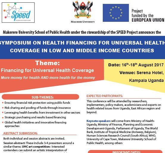 Symposium on Financing for Universal Health Coverage
