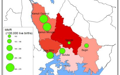 Mapping can guide strategies to save mothers and newborns; learning from Eastern Uganda