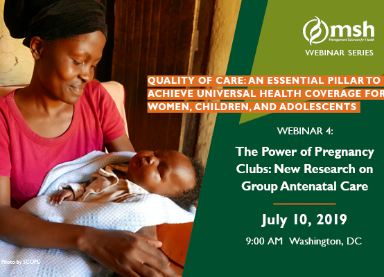 Webinar | The Power of Pregnancy Clubs: New Research on Group Antenatal Care
