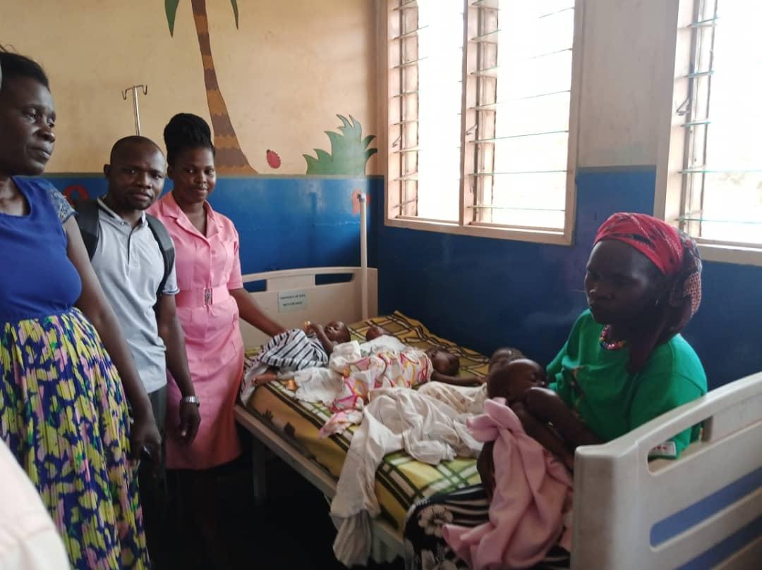 Iganga quintuplets admitted; need help